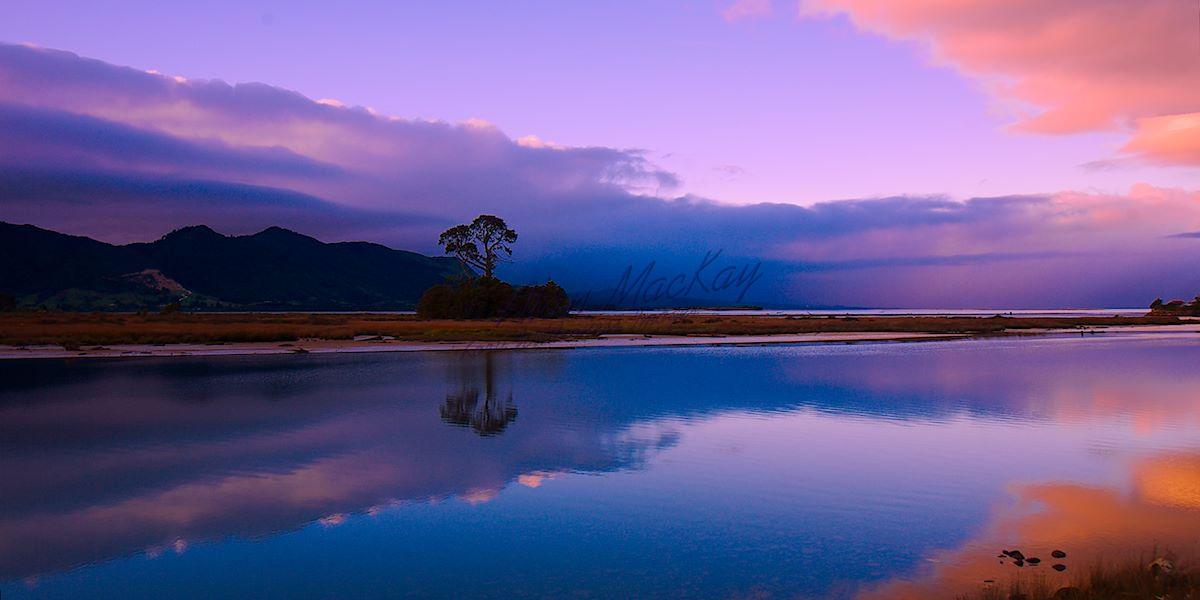 Calm Before Storm. Collingwood, Tasman, NZ