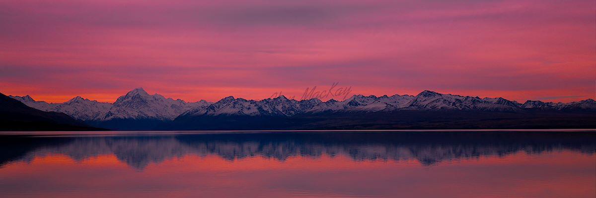 Lake Pukaki Dusk